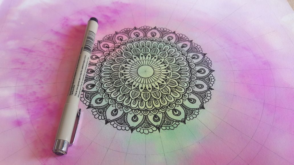 Drawing Mandala – Healing Mandalas for all