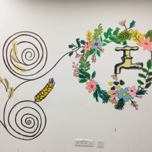 wall painting corporate team building activity in bangalore