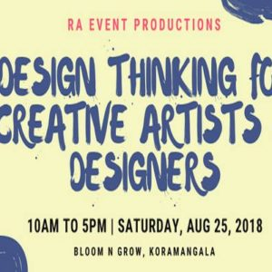 Design Thinking for Creative Artists & Designers