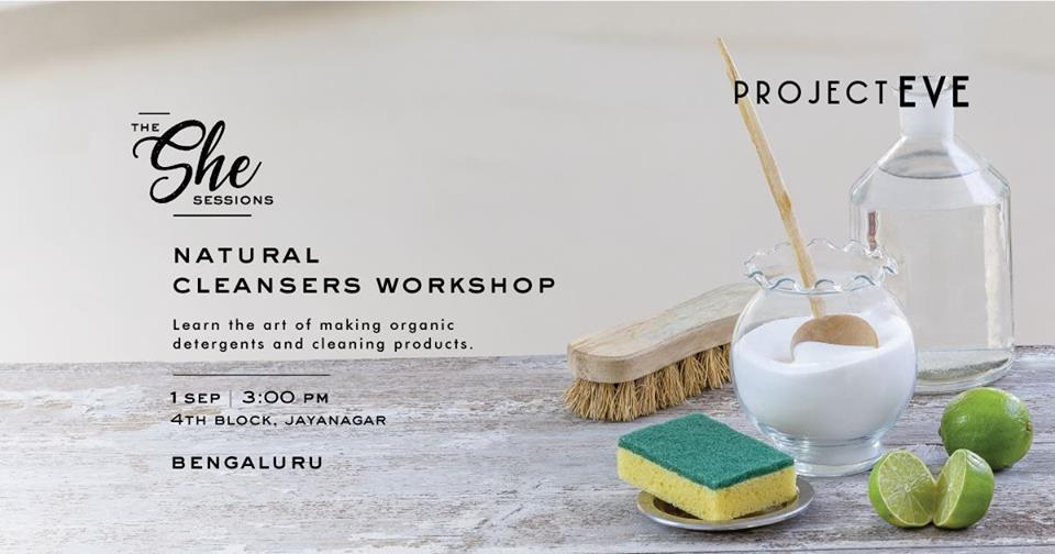 Natural Cleansers Workshop
