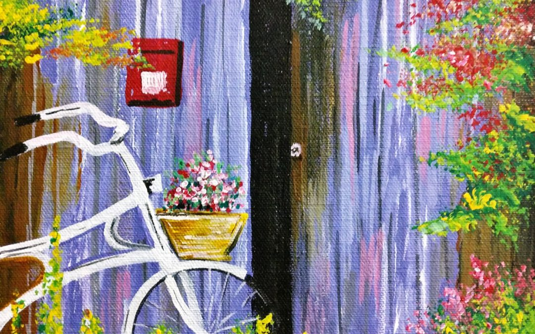 Acrylic Painting Weekday Workshop – Brush and Finger Painting
