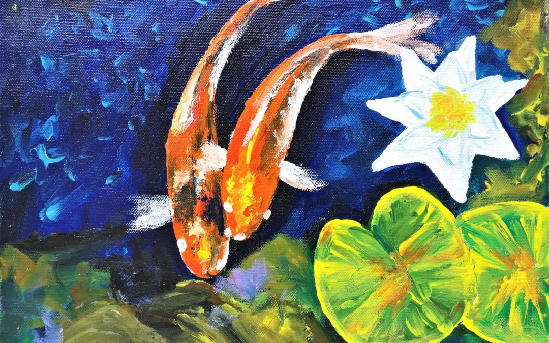 Finger Acrylic Painting workshop for Beginners – Weekday event