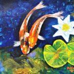 Koi Fish Painting Workshop