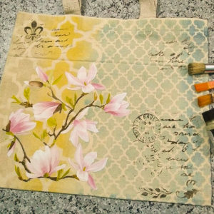 Design a tote bags using cadence products