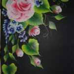 one stroke painting, summer art workshop