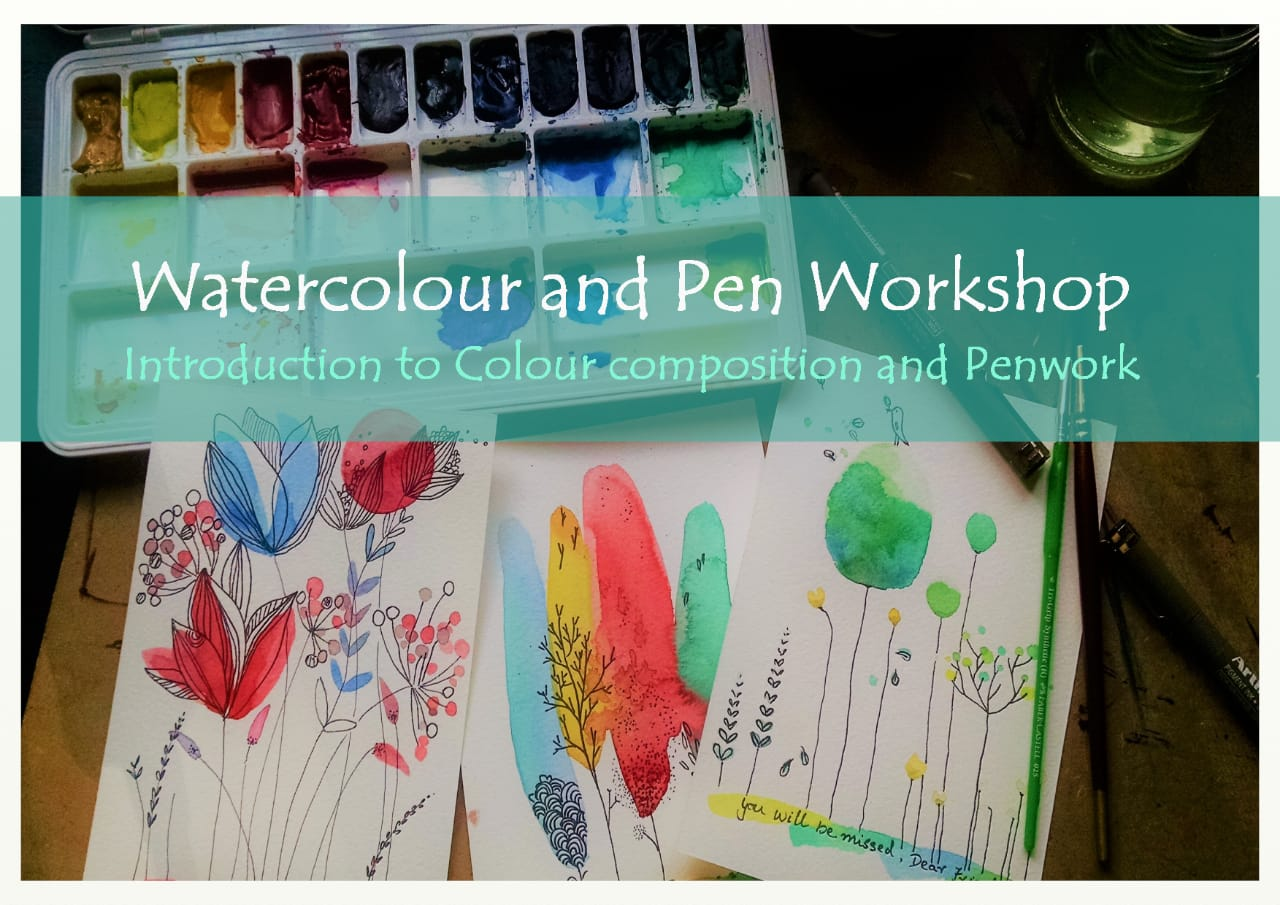 Watercolour workshop for beginners in Bangalore