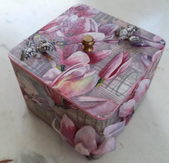 3D Decoupage workshop in Bangalore