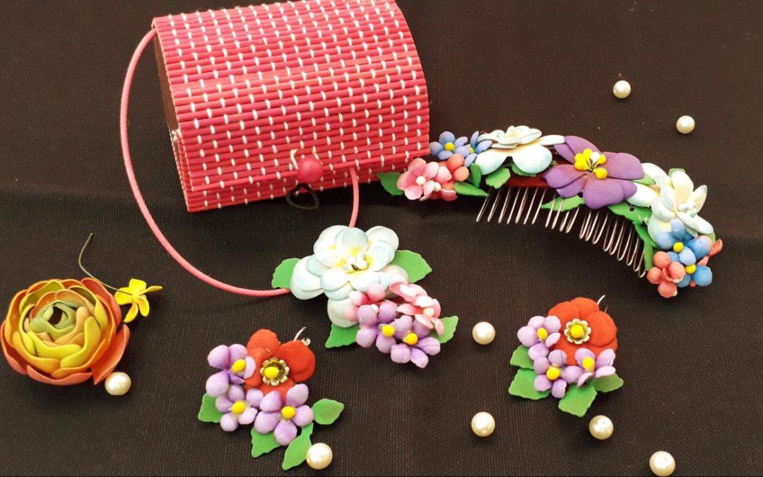 Foamian Flower jewelry Workshop – Beginners workshop in Bangalore