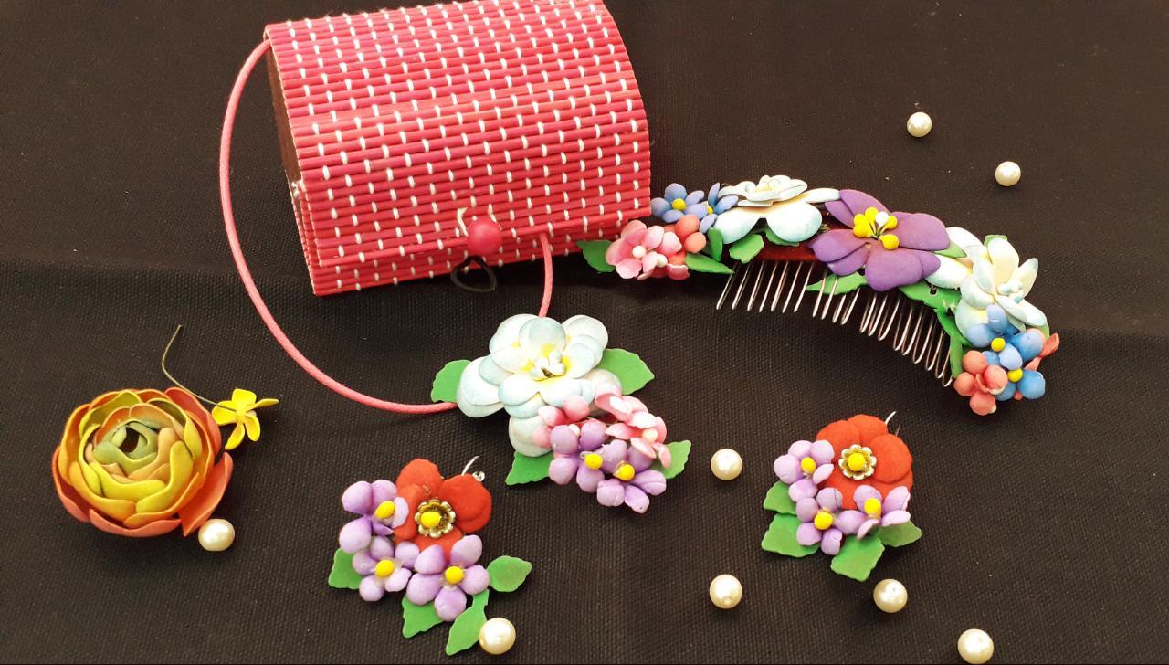 Foamian Flower jewelry Workshop