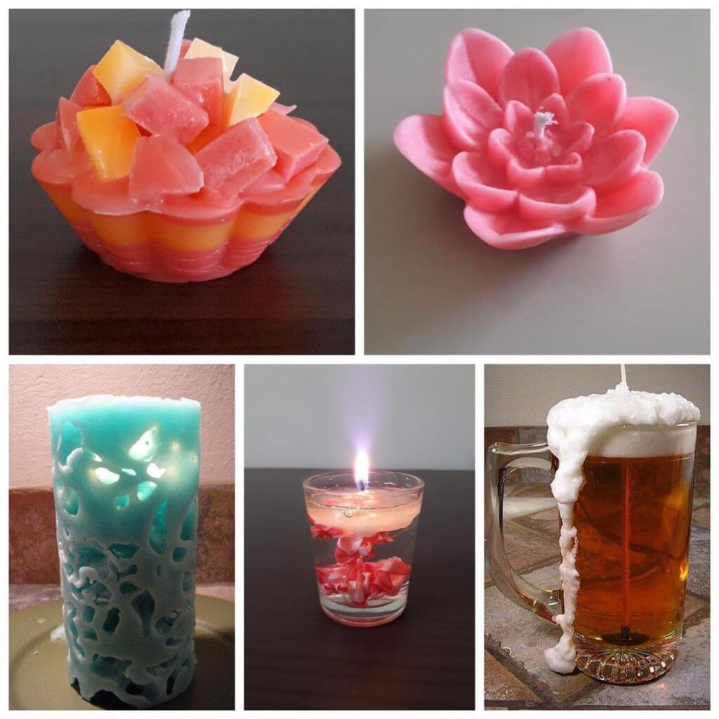 Candle making, beginners workshop