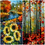 Knife Painting workshop for Beginners in Bangalore