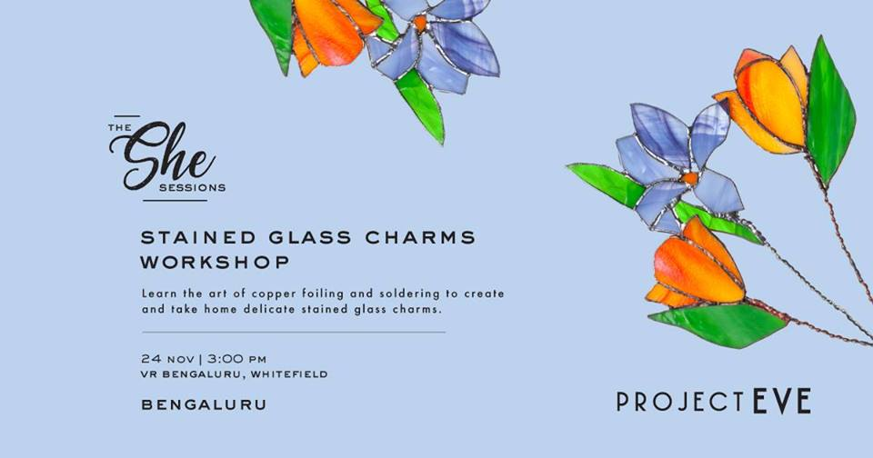 Stained Glass Charms Workshop