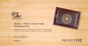 Warli Tray Painting Workshop