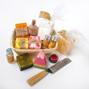 Rustic Soap and Bath Luxuries