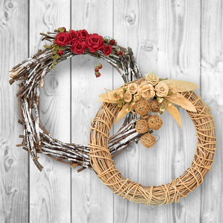 Home Décor Wreath – Itsy Bitsy Carnival Masterclasses