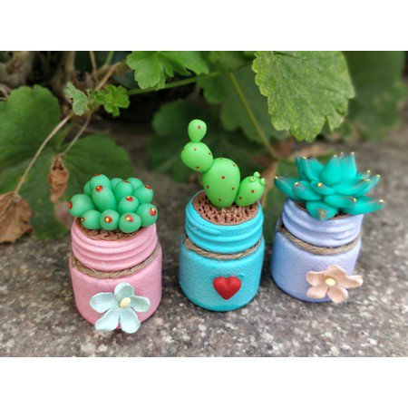 Miniature Clay Succulent Planters – Itsy Bitsy Carnival Masterclasses