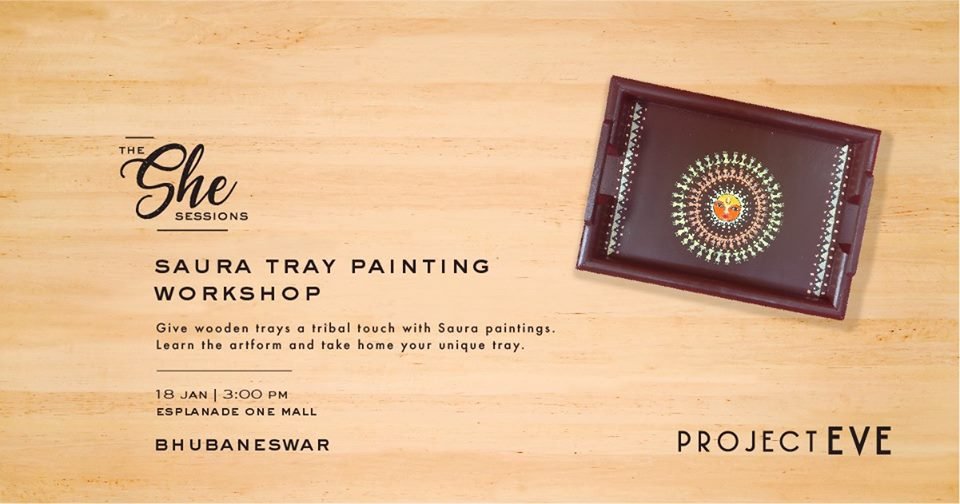 Tray Painting workshop