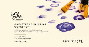 THE She Sessions - One Stroke Painting