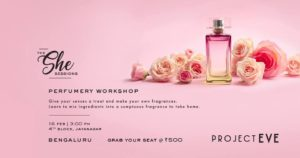 bengaluru events, perfumery workshop