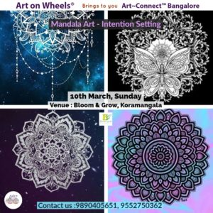 Mandala art, beginner workshop