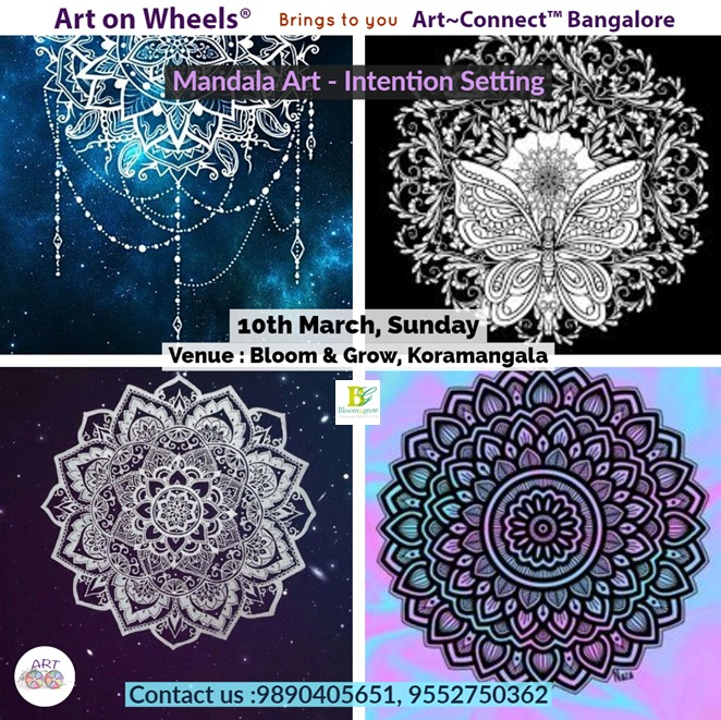 Mandala Art- Beginners workshop in Bangalore