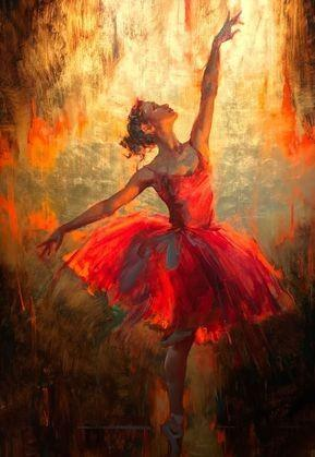 Ballerina Knife painting – Beginner workshop in Bangalore