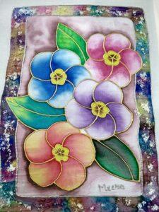 Fabric painting, beginner workshop