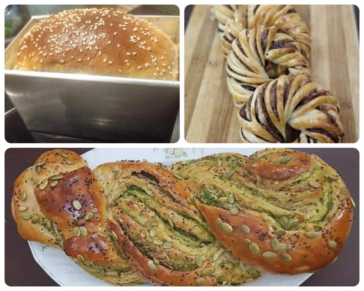 bread making, summer art workshop