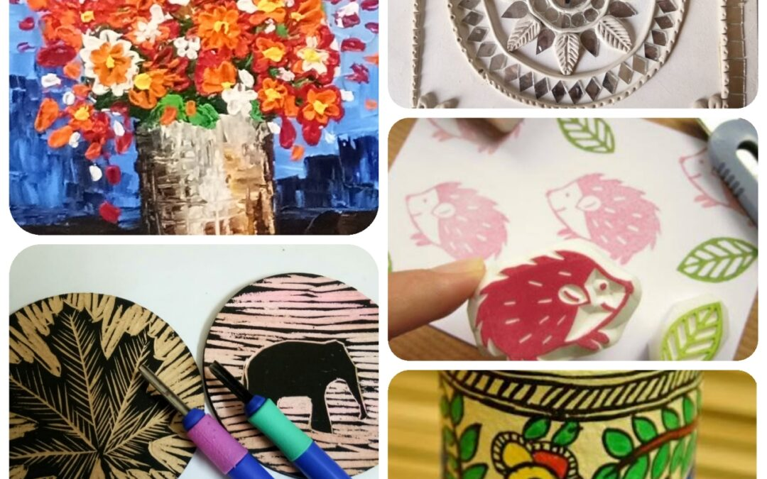 Five Day Art Program – Introduction to Folk and Contemporary Art