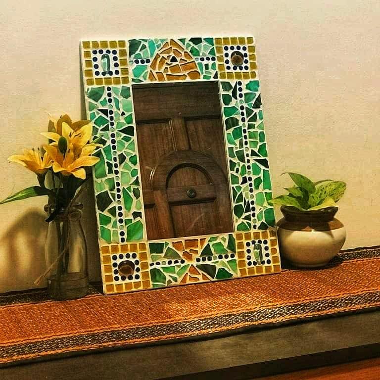 Mosaic Mirror - Beginners Workshop in Bangalore