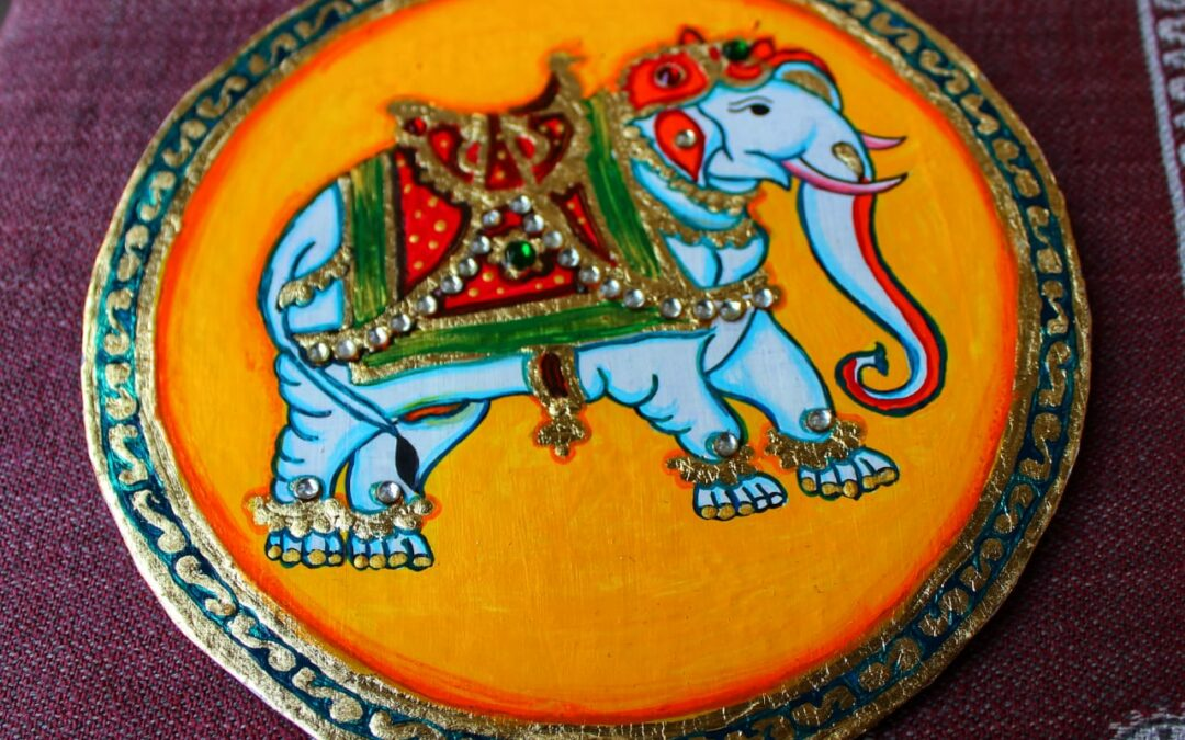Ganjifa Art – Beginners workshop in Bangalore