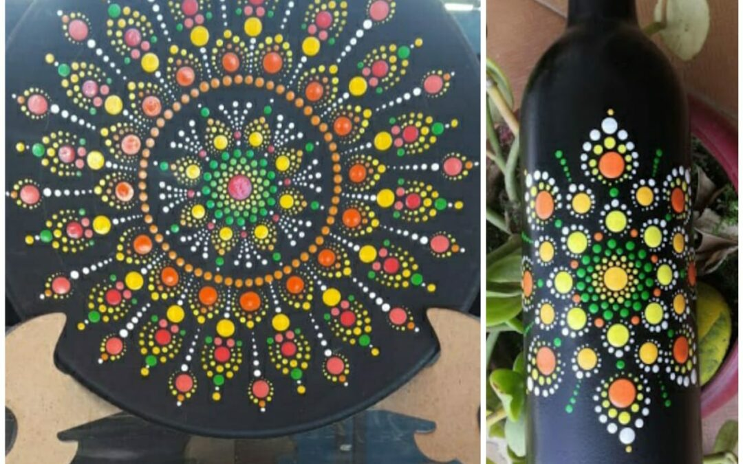 Dot Mandala- Beginners workshop in Bangalore