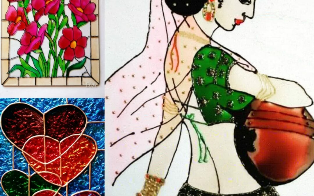 Glass painting – workshop for Beginners in Bangalore