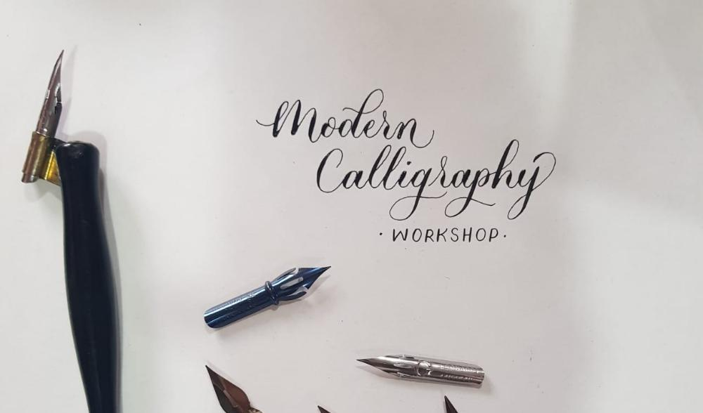 Modern calligraphy with Pointed pen – Beginners workshop