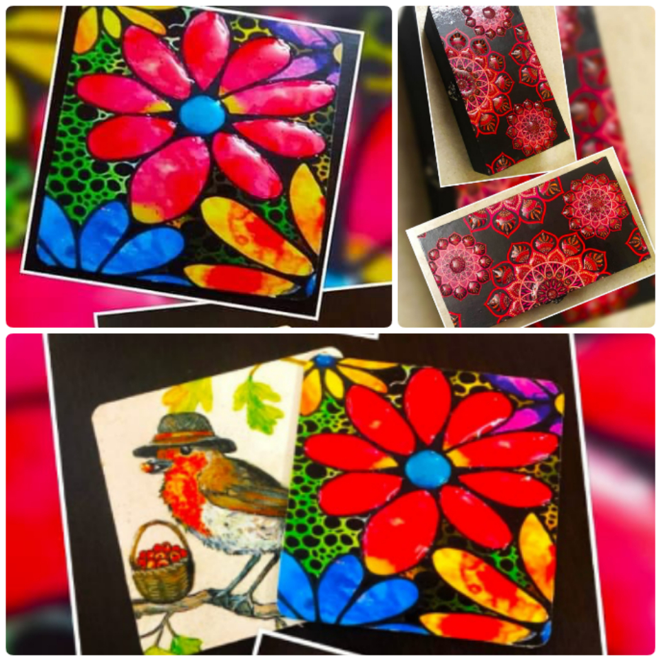 Mosaic Decoupage with Gloss effect workshop - for Beginners in Bangalore