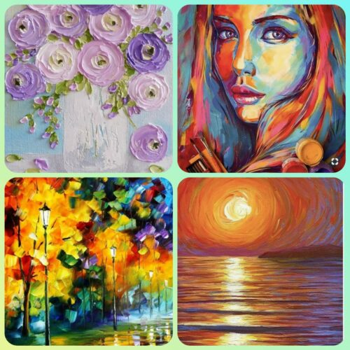 Acrylic and watercolour Painting Classes for Beginners