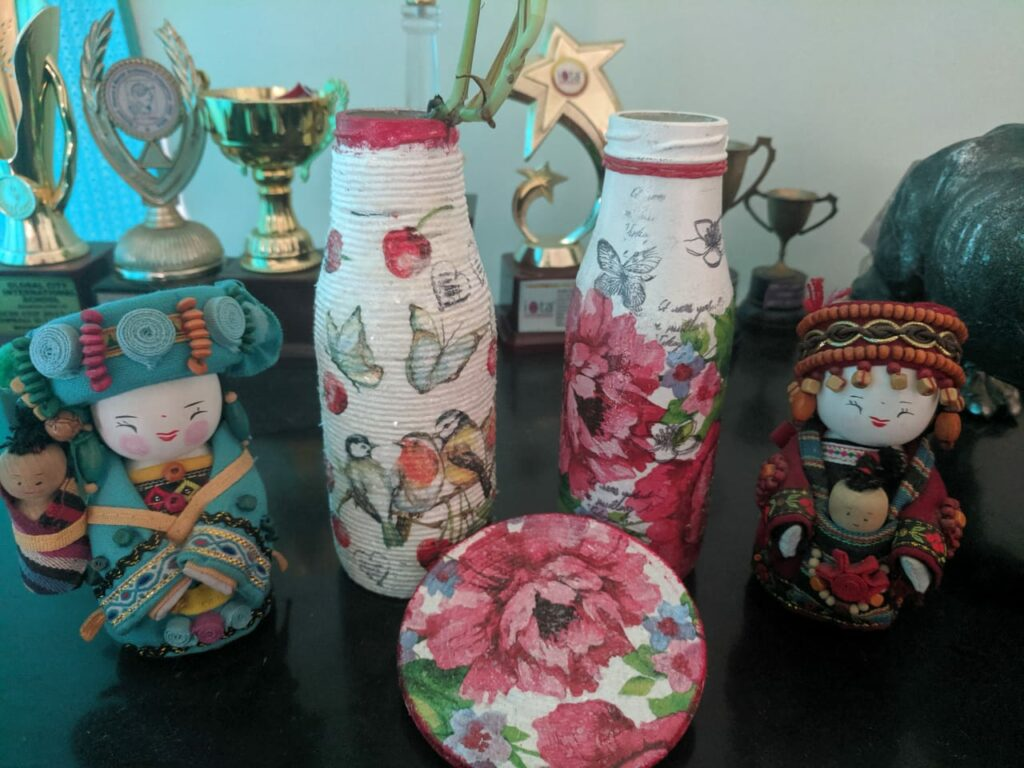 Crystal Decoupage - workshop for Beginners in Bangalore