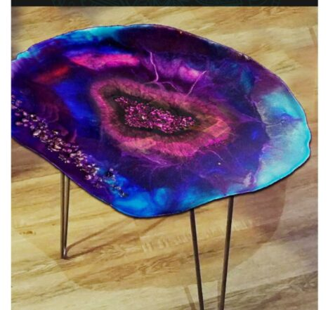 Resin Art on Table - Beginners' workshop in Bangalore