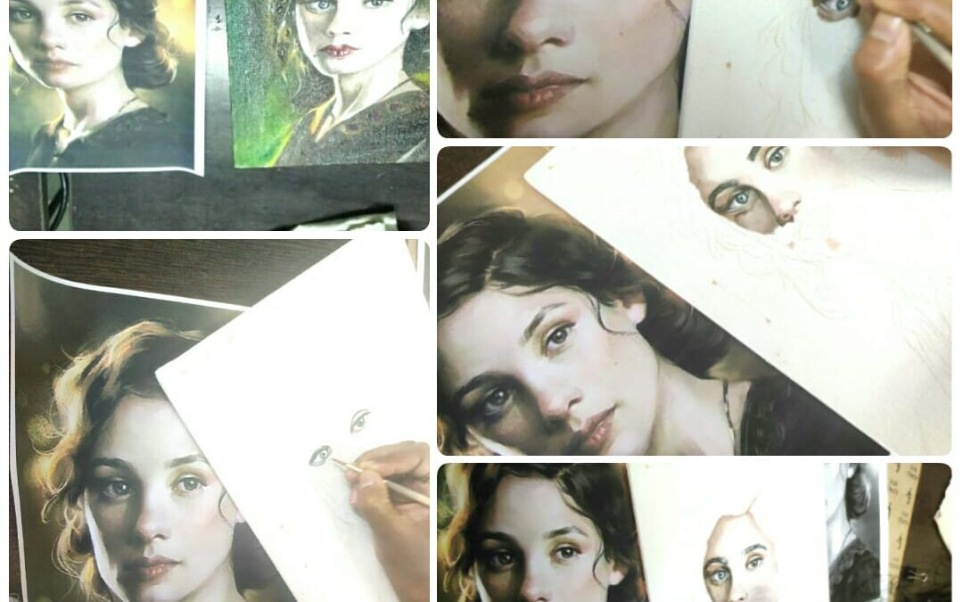 Oil Portrait Painting – Beginners Workshop in Bangalore