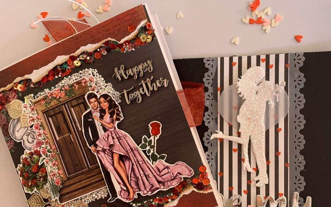 Valentine Mini Album and Card making – Beginners workshop in Bangalore