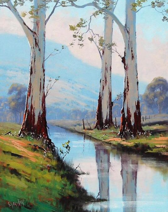 Landscape Oil Painting – Two-day Online Workshop