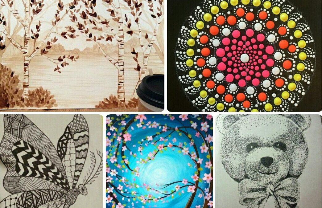 Five-day online art program by Kshama