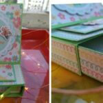 Easel card making with drawer - free online session