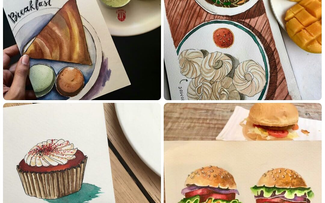Food Illustration with Hemali Mehta (Online Session)