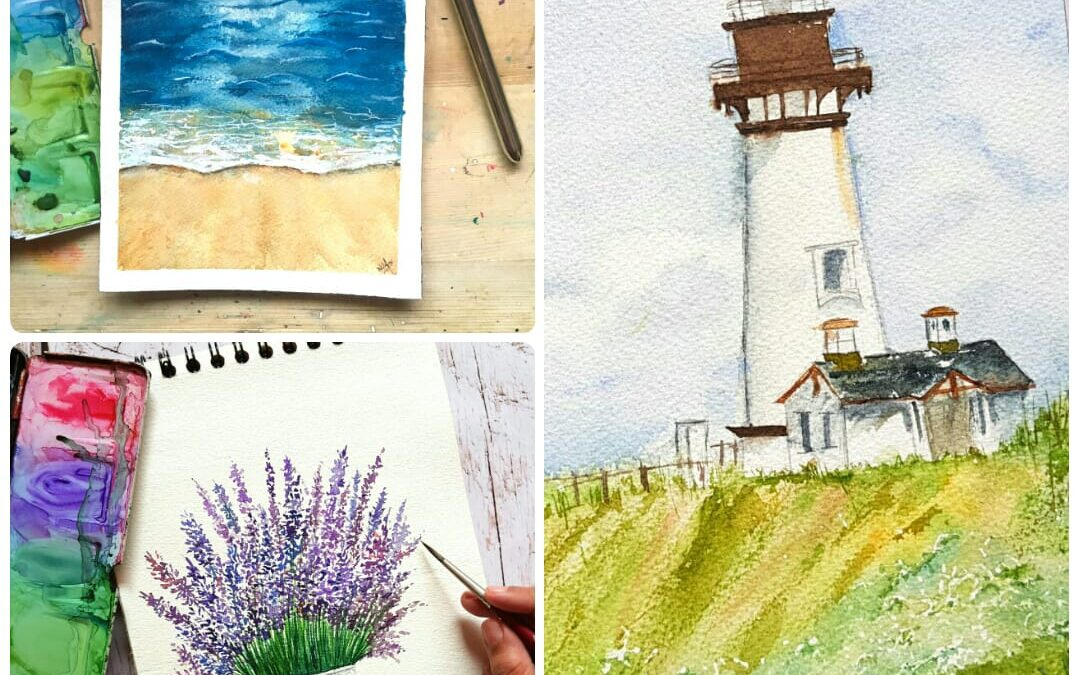 Watercolor Painting – Three days online Workshop