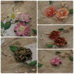 Paper flower making - online session
