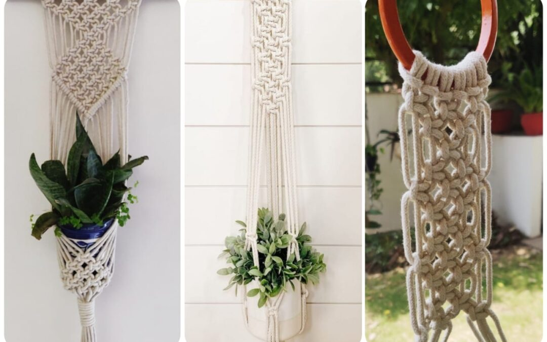 Macramé Wall Plant Hanger – Online Workshop