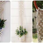 Macramé Wall Plant Hanger - Online Workshop