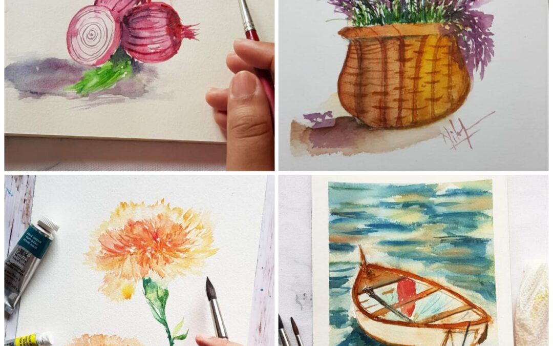 Watercolor Painting Online Classes – For Beginners and Intermediates