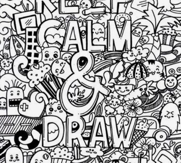 Doodle Art – Four Day Online Workshop for Beginners